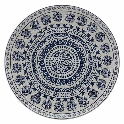 NEW Maxwell & Williams Blue Antico Round Platter, 36.5cm
