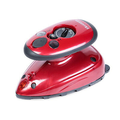 SMAGREHO Dual Voltage Compact Design Home-and-Away Travel Mini Steam/ Dry Iron