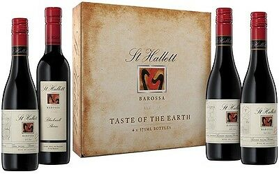 "St Hallett ""Taste of the Earth"" Shiraz 4 x 375ml 2012 Red Wine Pack"