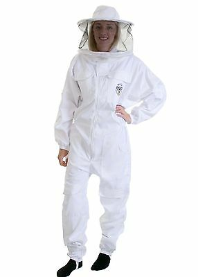 BUZZ BEE SUIT  with round veil, GLOVES, SMOKER AND COMPLETE STARTER TOOL KIT • EUR 76,58