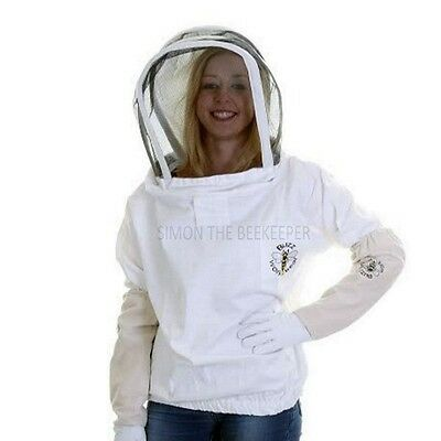 BUZZ Beekeepers bee Jacket / Tunic Fencing Veil and Gloves: ALL SIZES