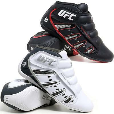 Mens UFC MMA Mid Hi Top Boxing Gym Sports Lace Up Trainers Boys Boots Shoes Size