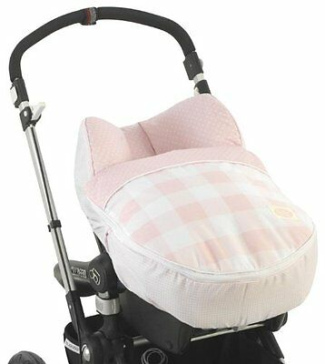 Cambrass Maxi-Cosi Grope 0 Carseat Cover Ocean (Pink)