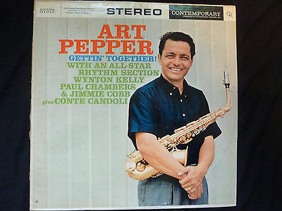 ART PEPPER - Gettin´Together! - S7573 - very rare