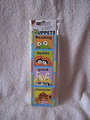 16 The Muppets Bookmarks