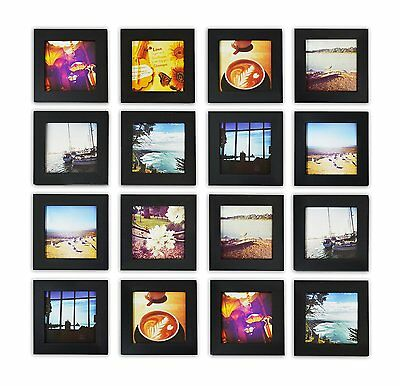Smartphone Instagram Frame Collection 8x8 Inch Square Photo Wood