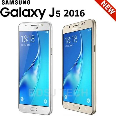 "Samsung Galaxy J5 2016 (16GB) 5.2"", 4G 13MP DUAL SIM GSM Unlocked Phone J5108/DS"