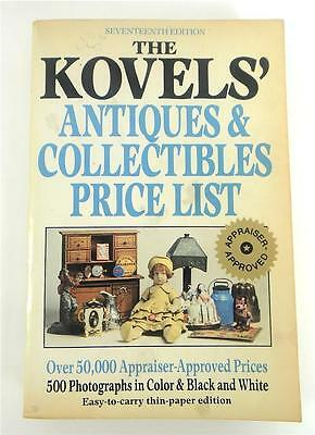 The Kovels' Antiques & Collectibles Price list