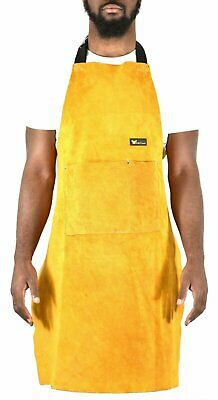 G & F Heavy duty genuine cowhide leather work apron