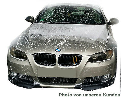 bmw e92 m3 coupe front splitter lackiert titan silber flaps flap lippe spoiler