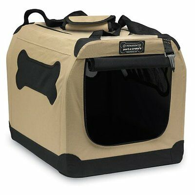 Collapsible Dog Kennel Folding Crate Portable Pet Travel Cage House Training