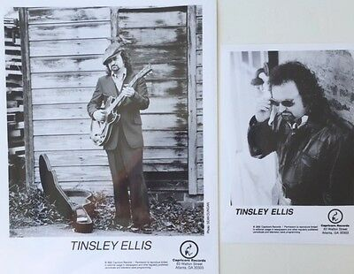 Tinsley Ellis TWO (2) Promotional Photographs Capricorn Records 2000