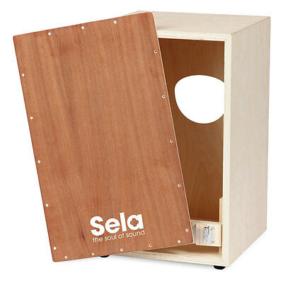 Sela Snare Cajon Kit - includes CD, all parts & tools - Made in Germany