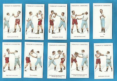 Franklyn Davey Cigarette Cards - BOXING - Full mint condition set