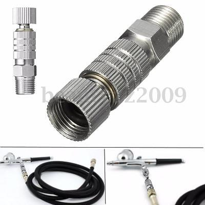 1/8'' Airbrush Hose Quick Release Adaptor Disconnect Fitting Coupling Connector