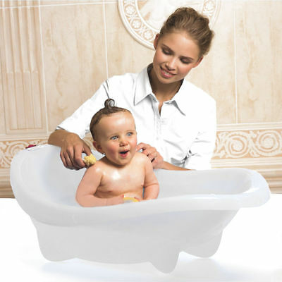New Ok Baby Laguna Baby Bath White With Easy To Read Thermometer