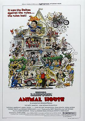 """National Lampoons Animal House""...Classic Comedy Movie Poster  A1A2A3A4Sizes"