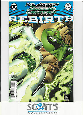 Hal Jordan And The Green Lantern Corps Rebirth  #1  Nm  New  (Bagged & Boarded)