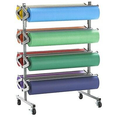 "Bulman R370 36"" Horizontal Tower 8 Roll Standard Paper Rack - Unassembled"