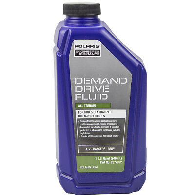 OEM Demand Drive Fluid Oil Lube 32oz Quart Polaris Sportsman Razor RZR