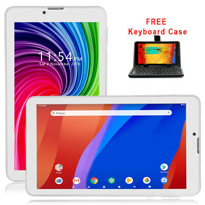 UNLOCKED Android 4.4 KK Tablet PC 3G Wireless Smart Phone - SmartCover Bundled
