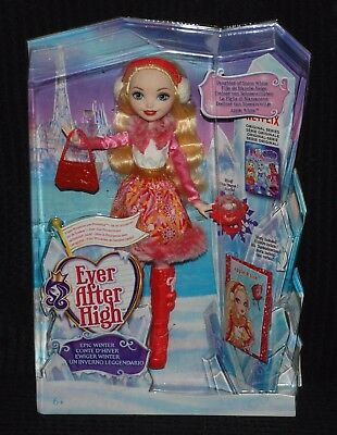 Ever After High Epic Winter Apple White Doll Daughter of Snow White BNIB