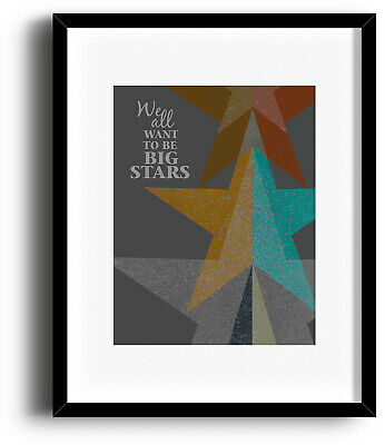 Counting Crows MR JONES Song Lyric Art Rock Music Poster (PRINTS CANVAS PLAQUES)