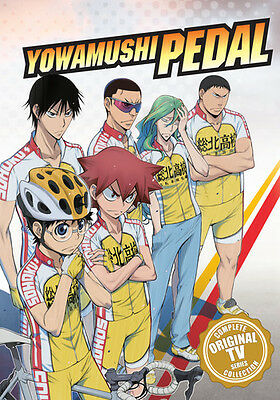 Yowamushi Pedal: Complete First Series - 6 DISC SET (2016, DVD NEW)