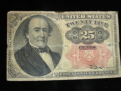 1874 U.S. FRACTIONAL 25CENT NOTE - 5th ISSUE - NEATO !