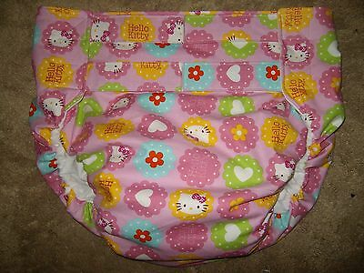 Dependeco All In One cloth adult diaper S/M/L/XL (hello kitty)