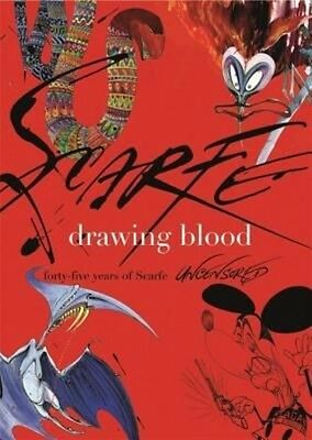Drawing Blood by Gerald Scarfe Hardcover Book (English)