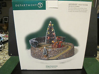 Dept 56 Village Accessories PACKAGES DELIVERY LNIB 53038