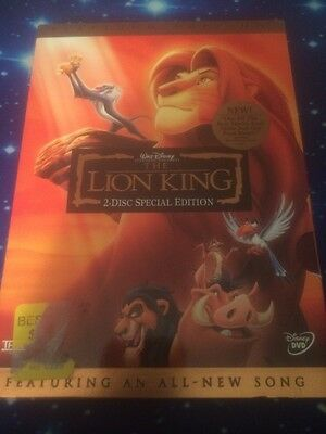 The Lion King (DVD, 2003, 2-Disc Set, Platinum Edition; RARE Brand New