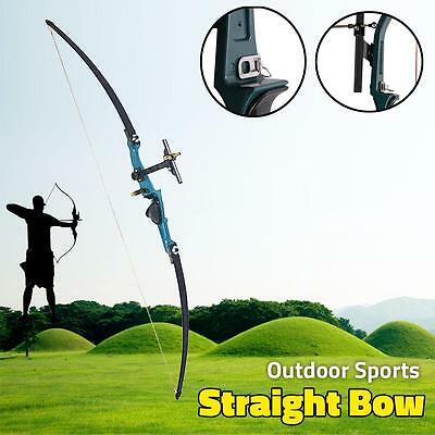 "50lbs Archery Takedown Recurve Straight Bow Right Hand 44"" Hunting Practice Bow"