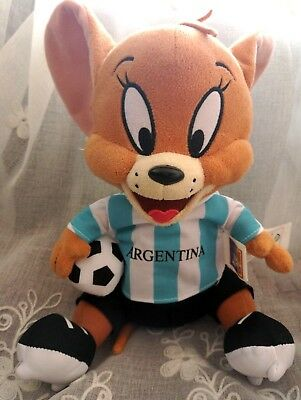 "Original Tom and Jerry ""JERRY"" Mice DEUTSCHLAND Football Shirt Ball Plush Toy"