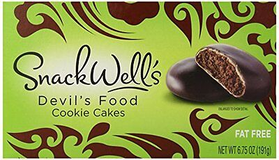 Snackwells Devils Food Cake Cookie, 6.75 Ounce