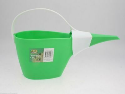 10 x Watering Cans tough plastic 1 Litre reduced to clear bulk Wholesale Lot