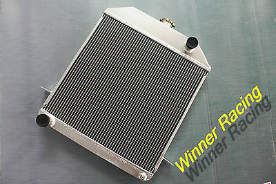 "2X1"" Aluminum Radiator Ford Deluxe/hot Rod 305 V8 M/t 1939-1941 Up To 700Hp"
