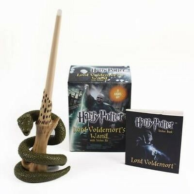 Harry Potter Lord Voldemort's Wand with Sticker Kit [With Book(s) and 8-Inch Lig