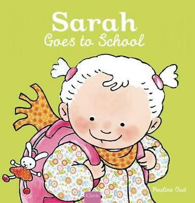 Sarah Goes to School (English) Hardcover Book Free Shipping!