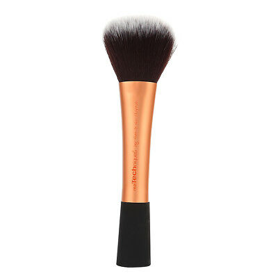 1PC Real Techniques Makeup Brushes Powder Brush Make Up Cosmetic Tool Gold