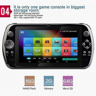 GPD Q9 RK3288 Quad Core Android 4.4 7 Inch IPS Game Console Tablet PC G3P9