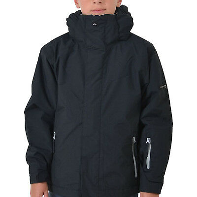 New Quiksilver Next Mission Boys Snow Ski Snowboarding Jacket Waterproof Warm