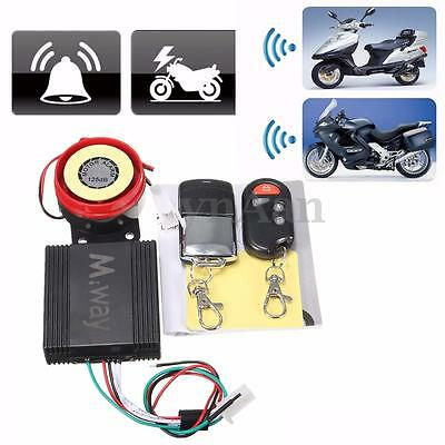 M.Way Motorcycle Motorbike Scooter Immobiliser Anti-theft Security Remote Alarm