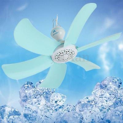 Mini Ceiling Cool Fan Hanging Quiet Soft Wind Summer Portable Cooler Kids Gift