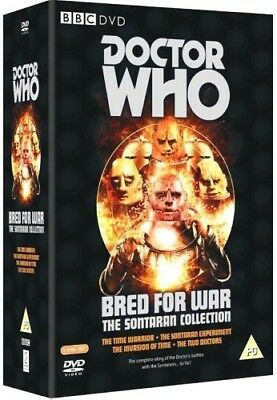 DR WHO 070 077 097 140 BRED FOR WAR SONTARAN Doctor Pertwee Baker Troughton DVD