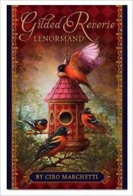 Gilded Reverie Lenormand [With Booklet] by Ciro Marchetti Hardcover Book (Englis
