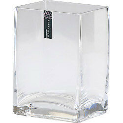 Ravenhead Clear Tank Vase - 14cm Glass High Quality Fast Postage