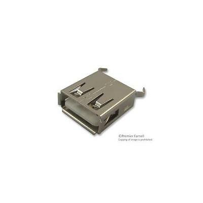 GA252068 614004135023 Wurth Elektronik Receptacle , USB A , Tht , Vertical