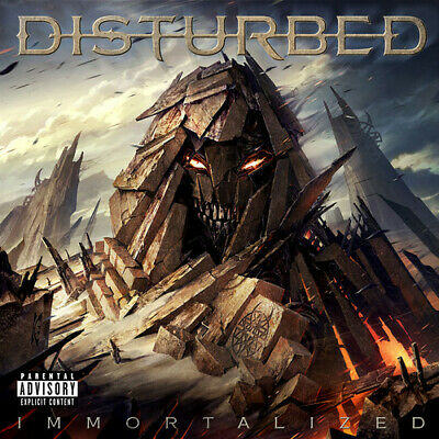 Disturbed - Immortalized [New CD] Explicit, Ltd Ed, Deluxe Edition